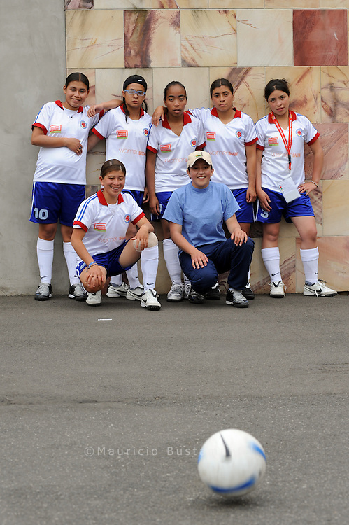 Chile. Homeless World Cup. Melbourne, 2008
