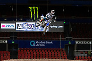 SYDNEY, NSW - NOVEMBER 09: Dan Reardon (122) during the 2018 AUS-X Open Supercross media day at Qudos Bank Arena in Sydney, Australia on November 09, 2018. (Photo by Speed Media/Icon Sportswire)