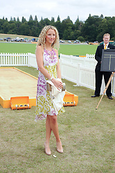 KATE FREUD at the Veuve Clicquot Gold Cup polo final held at Cowdray Park, Midhurst, West Sussex on 18th July 2010.