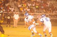 Water Valley's Brandon Bounds (6) vs. Charleston in Charleston, Miss. on Friday, September 14, 2012. Charleston won.
