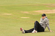 Jamie How of the Central Stags watches the fielding session during the Central Stags training session held at St Georges Park in Port Elizabeth on the 20 September 2010..Photo by: Shaun Roy/SPORTZPICS/CLT20