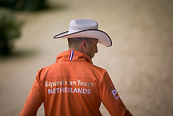 Jurgen Pouls, (NED), Hollywood Gunman - Horse Inspection Reining  - Alltech FEI World Equestrian Games™ 2014 - Normandy, France.<br /> © Hippo Foto Team - Dirk Caremans<br /> 25/06/14