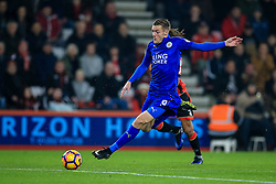 Jamie Vardy of Leicester City on the attack - Mandatory by-line: Jason Brown/JMP - 13/12/2016 - FOOTBALL - Vitality Stadium - London, England - AFC Bournemouth v Leicester City - Premier League