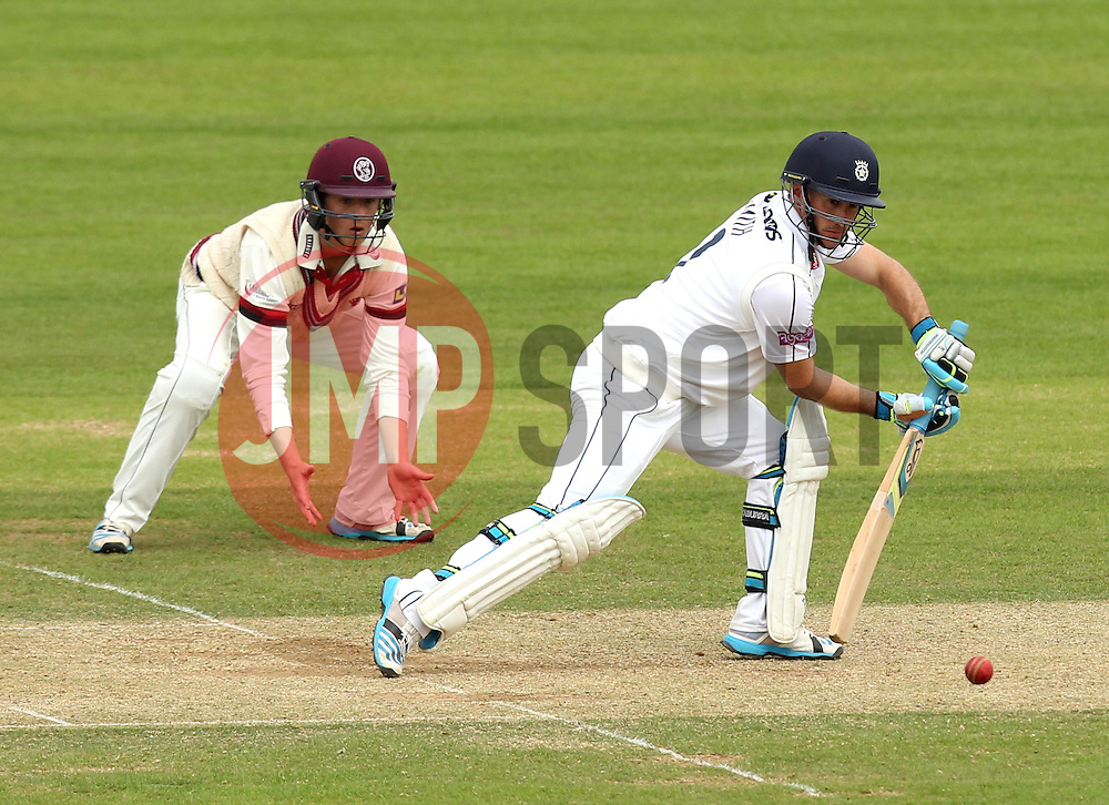Hampshire's Will Smith bats - Photo mandatory by-line: Robbie Stephenson/JMP - Mobile: 07966 386802 - 23/06/2015 - SPORT - Cricket - Southampton - The Ageas Bowl - Hampshire v Somerset - County Championship Division One