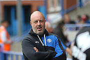Rochdale FC Manager Keith Hill during the EFL Sky Bet League 1 match between Rochdale and AFC Wimbledon at Spotland, Rochdale, England on 27 August 2016. Photo by Stuart Butcher.