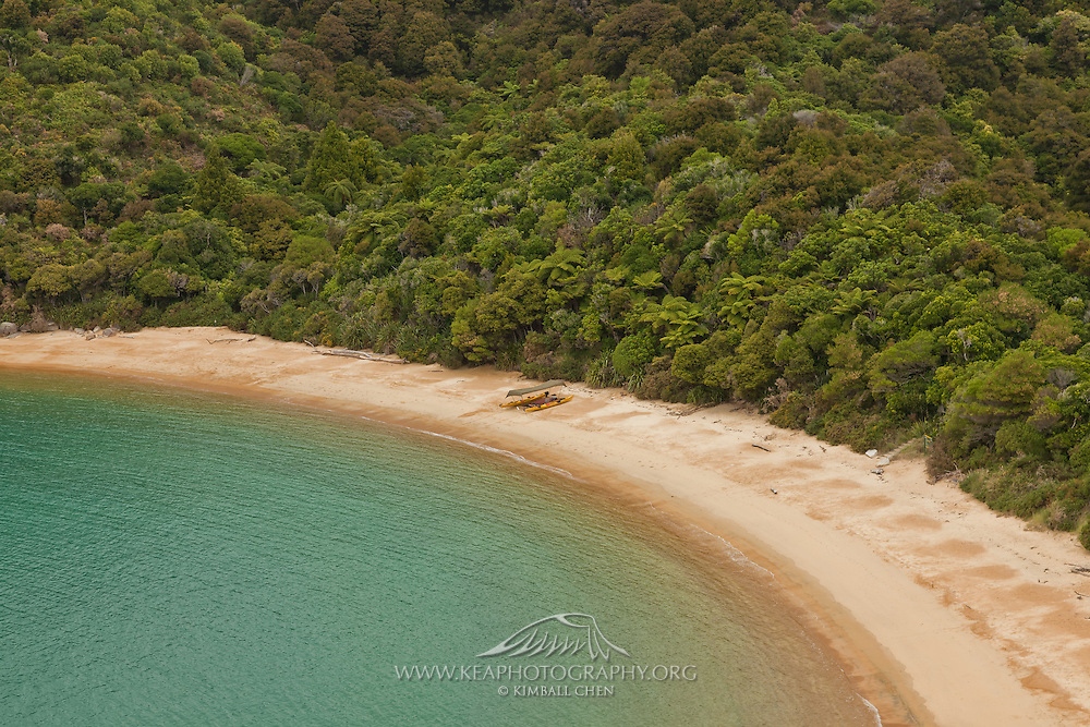 Te Puketea Bay, Abel Tasman National Park, New Zealand