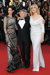 Actress Emmanuelle Seigner, Director Roman Polanski and actress Eva Green attend the Based On A True Story (D'Apres Une Histoire Vraie) screening during the 70th annual Cannes Film Festival at Palais des Festivals on May 27, 2017 in Cannes, France. Photo by Shootpix/ABACAPRESS.COM