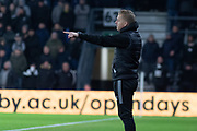 Gary Monk during the EFL Sky Bet Championship match between Derby County and Sheffield Wednesday at the Pride Park, Derby, England on 11 December 2019.