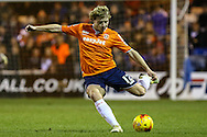 Scott Griffiths of Luton Town during the Sky Bet League 2 match at Kenilworth Road, Luton<br /> Picture by David Horn/Focus Images Ltd +44 7545 970036<br /> 08/01/2015