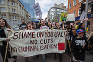 25 Apr.2015 - Hundreds march in London to defend adult Education.