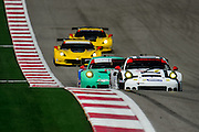 September 19, 2015: Tudor at Circuit of the Americas. #912 Bergmeister, Bamber, Porsche NA 911 RSR, GTLM and the GTLM field