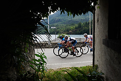 Lotta Lepistö (FIN) at Giro Rosa 2018 - Stage 5, a 122.6 km road race starting and finishing in Omegna, Italy on July 10, 2018. Photo by Sean Robinson/velofocus.com