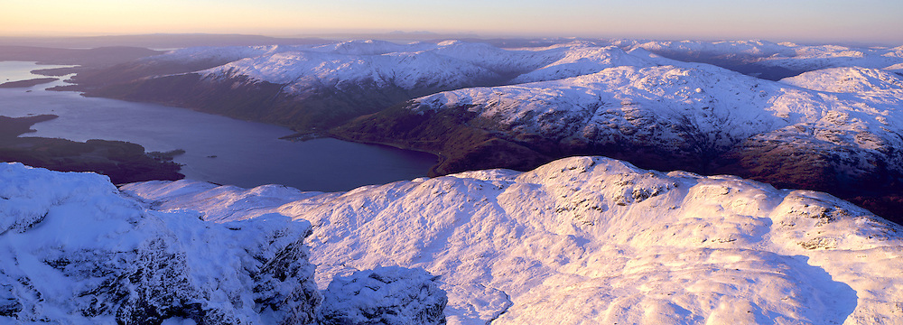 Loch Lomond and Trossachs National Park Scotland