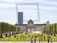 Paris, Champ de Mars, Ecole Militaire, France