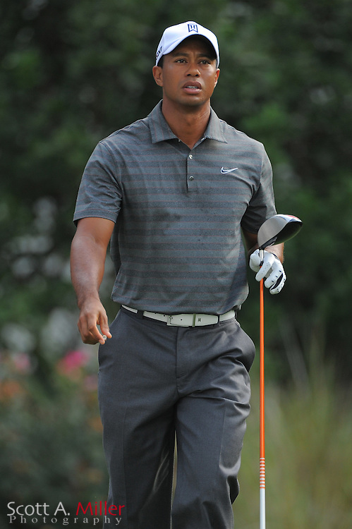 Tiger Woods during the first round of the Players Championship at the TPC Sawgrass on May 10, 2012 in Ponte Vedra, Fla. ..©2012 Scott A. Miller..