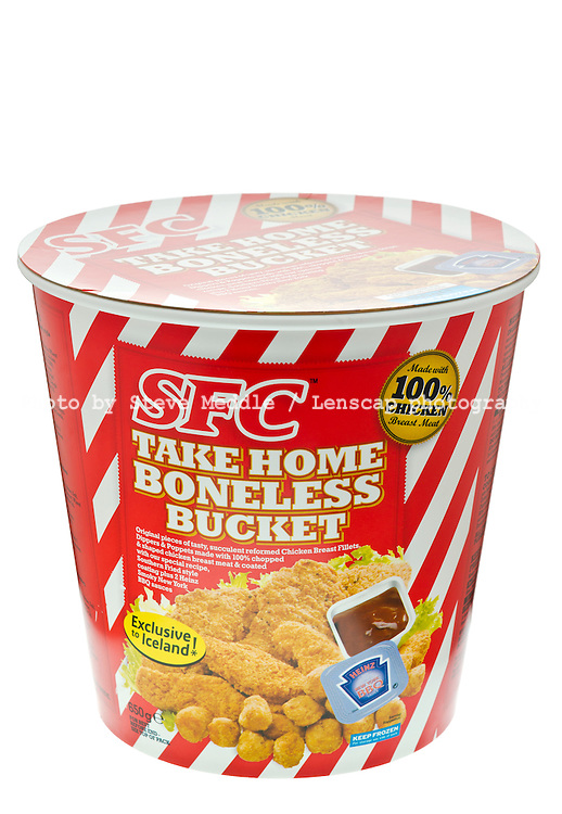 SFC - Southern Style Chicken Bucket (KFC Style) exclusive to Iceland Stores - Oct 2011