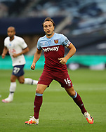 West Ham's Mark Noble during the Premier League match at the Tottenham Hotspur Stadium, London. Picture date: 23rd June 2020. Picture credit should read: David Klein/Sportimage