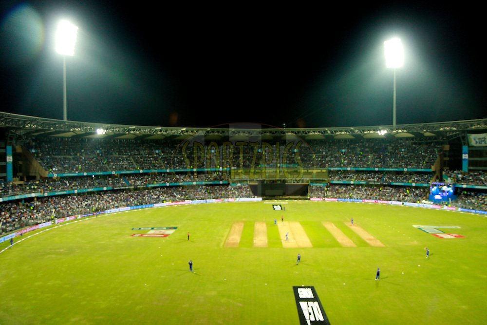 GV of the Ground during match 12 of the the Indian Premier League ( IPL) 2012  between The Mumbai Indians and the Rajasthan Royals held at the Wankhede Stadium in Mumbai on the 11th April 2012..Photo by Sandeep Shetty/IPL/SPORTZPICS