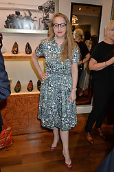 DAISY DE VILLENEUVE at a party to celebrate the 10th anniversary of Gaziano & Girling's at 39 Savile Row, London on 14th September 2016.