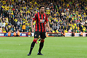 Arnaut Danjuma (14) of AFC Bournemouth during the Premier League match between Bournemouth and Norwich City at the Vitality Stadium, Bournemouth, England on 19 October 2019.