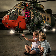Sea King Belgian Air Force © 2Photographers - Paul Gheyle & Jürgen de Witte