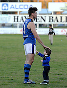 WAFL Elimination Final - Peel Thunder v East Perth Royals at Bendigo Bank Stadium, Mandurah. Photo by Daniel Wilkins. PICTURED- Retiring East Perth ruck man Paul Johnson after the final siren