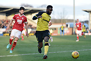 Burton Albion striker Darren Bent (9) during the EFL Sky Bet Championship match between Burton Albion and Nottingham Forest at the Pirelli Stadium, Burton upon Trent, England on 17 February 2018. Picture by Richard Holmes.