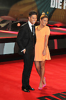 Joey Essex; Sam Faiers, A Good Day To Die Hard - UK Film Premiere, Empire Cinema Leicester Square, London UK, 07 February 2013, (Photo by Richard Goldschmidt)