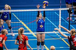 18-03-2017 NED:  Finale NOJK A finalisten, Apeldoorn<br /> De A-teams waren de finaledag actief in Apeldoorn / Voltena verloor de finale van Peelpush