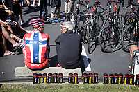 Sykkel<br /> 10.05.2014<br /> Foto: PhotoNews/Digitalsport<br /> NORWAY ONLY<br /> <br /> Sacramento - California - wielrennen - cycling - radsport - cyclisme -Thor Hushovd (Norway / BMC Racing Team) - Allan Peiper (GBR / Teammanager Team BMC Racing)   pictured during  the days before start of  the Amgen Tour of California 2014