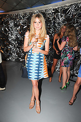 DIANA VICKERS at a party to celebrate the launch of Bang a new male fragrance by Marc Jacobs held at the Fith Floor Restaurant, Harvey Nichols, Knightsbridge, London on 22nd July 2010.