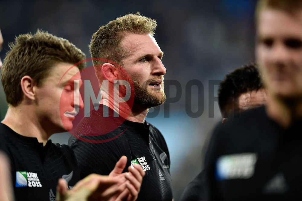 Kieran Read of New Zealand looks on after the match - Mandatory byline: Patrick Khachfe/JMP - 07966 386802 - 09/10/2015 - RUGBY UNION - St James' Park - Newcastle, England - New Zealand v Tonga - Rugby World Cup 2015 Pool C.