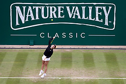 Australia's Daria Gavrilova in action during day four of the Nature Valley Classic at Edgbaston Priory, Birmingham.