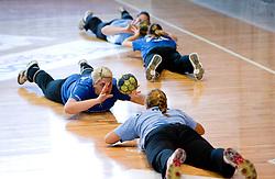 Misa Marincek at practice of Slovenian Handball Women National Team, on June 3, 2009, in Arena Kodeljevo, Ljubljana, Slovenia. (Photo by Vid Ponikvar / Sportida)
