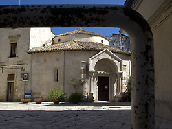 ITALY BRINDISI 11JUL09 - View of the temple of St. Giovanni di Sepolcro in Brindisi city centre. ...jre/Photo by Jiri Rezac....© Jiri Rezac 2009