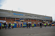 The West Stand at Hillsborough before the Sky Bet Championship match between Sheffield Wednesday and Cardiff City at Hillsborough, Sheffield, England on 30 April 2016. Photo by Ellie Hoad.