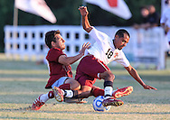 September 5, 2013: The Oklahoma Christian University Eagles play against the Southern Nazarene University Crimson Storm at Wes Harmon Field at the Wanda Rhodes Soccer Complex.