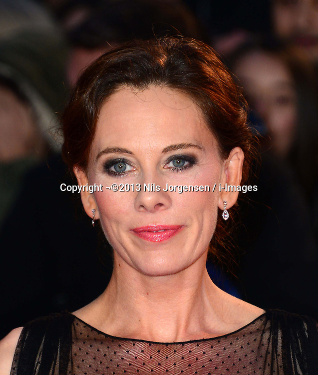Kelly Marcel at the World Premiere of 'Saving Mr Banks'. Odeon, London, United Kingdom. Sunday, 20th October 2013. Picture by Nils Jorgensen / i-Images