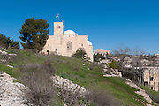St Andrew's Church, Jerusalem, Israel, was built as a memorial to the Scottish soldiers who were killed fighting the Turkish Army during World War I,