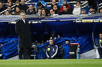 01.12.2012 SPAIN -  La Liga 12/13 Matchday 14th  match played between Real Madrid CF vs  Atletico de Madrid (2-0) at Santiago Bernabeu stadium. The picture show Jose Mourinho  coach of Real Madrid