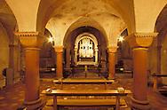 Europe, Germany, North Rhine-Westphalia, Cologne, the crypt of the Romanesque church Saint Gereon...Europa, Deutschland, Nordrhein-Westfalen, Koeln, die Krypta der romanischen Kirche St. Gereon.