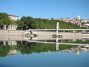 Pont Morand across the Rhône River in Lyon, in the French region of Rhône-Alpes