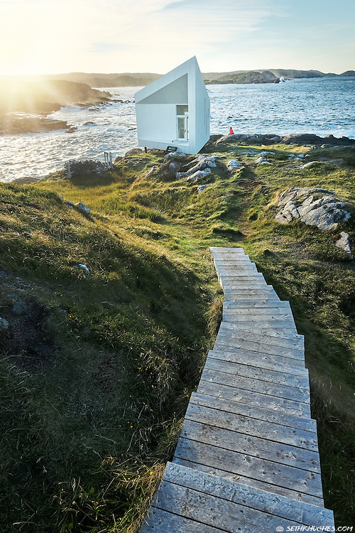 Squish Studio, Fogo Island Arts residency program, Newfoundland, Canada