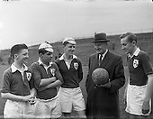 1958 - Soccer, Schoolboy International: England v Ireland