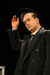 In the image - Matthew Macfadyen.<br /> At the press call,  scenes from the show 'Jeeves And Wooster In Perfect Nonsense' performed on stage, Duke of York Theatre, St Martins Lane, London, United Kingdom. Tuesday, 5th November 2013. Picture by Chris Joseph / i-Images