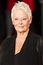 © Licensed to London News Pictures. 02/11/2017. London, UK. JUDI DENCH attends the world film premiere of Murder On The Orient Express. Photo credit: Ray Tang/LNP