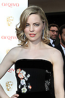 LONDON - MAY 27: Melissa George attends the Arqiva British Academy Television Awards at the Royal Festival Hall, London, UK. May 27, 2012. (Photo by Richard Goldschmidt)