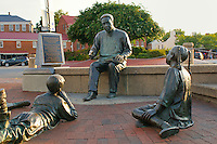 The Kunta Kinte-Alex Haley Memorial, City Dock, Annapolis, Maryland, USA