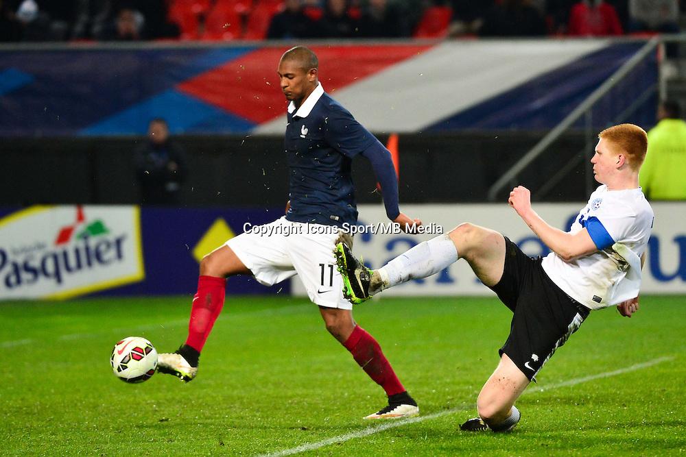 But Sebastien HALLER - 25.03.2015 - Football Espoirs - France / Estonie - Match Amical -Valenciennes<br /> Photo : Dave Winter / Icon Sport