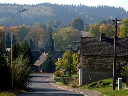 CZECH REPUBLIC NEDVEZI 14AUG08 - General view of Nedvezi village in Vysocina, Czech Republic.....jre/Photo by Jiri Rezac....© Jiri Rezac 2008....Contact: +44 (0) 7050 110 417..Mobile:  +44 (0) 7801 337 683..Office:  +44 (0) 20 8968 9635....Email:   jiri@jirirezac.com..Web:    www.jirirezac.com....All images © Jiri Rezac 2008. All rights reserved.